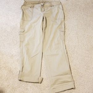 Maurices cargo type pants size 7/8